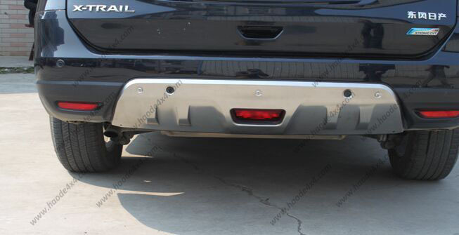 x-trail front skit plate instal with logo.jpg