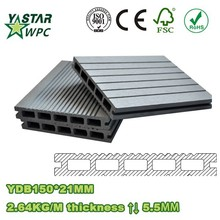 WPC outdoor decking floor/Y-Satr decking /High quaility