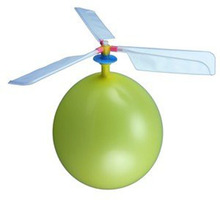 Self-combined Inflatable Flying Balloon Toy