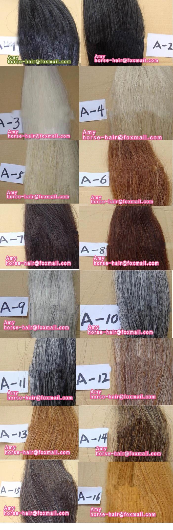 Loose Horse Hair For Sell Mongolian Horse Hair Horse Hair For Brush