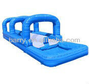 2013 new cheap giant slide pvc/inflatable obstacle game hot sale