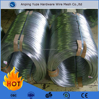 Alibaba china suppliers hebei YUZE Electric galvanized iron wire price per ton(factory)/Clothes Hanger