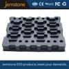 Anti-stati(ESD) black PS plastic compartment tray