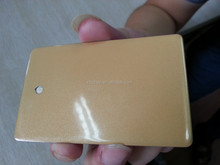gold powder coating for protect and decorate metal