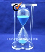 30 minuti clessidra arcylic/temporizzatore della sabbia/sabbia orologio