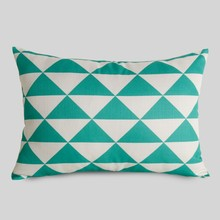 2015 New fashion 3 color geometric printing cushion cover decorative pillow case
