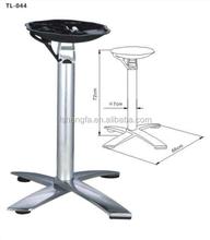 Folding Cast Aluminium Dining Table Legs,Table Parts TB-405C