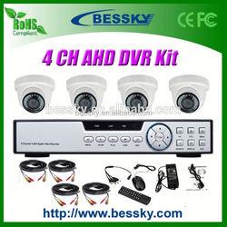 Alibaba China AHD Dome cctv camera kit security camera full hd 1080p mini dvr camera