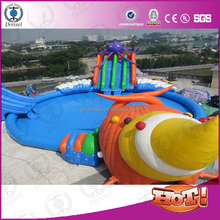 Inflatable Swimming Pool Rental Wipeout For Adult And Kid