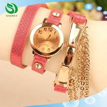 2015 Sell like hot cakes New listing Women bright skin series watch