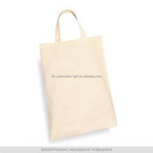 hot sale promotional packing shopping cotton tote bag, short handles blank cotton bag, custom blank cotton handbag