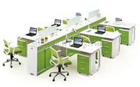 New design Workstation For 4 Person Modern Partition Office furniture (SZ-WS907)