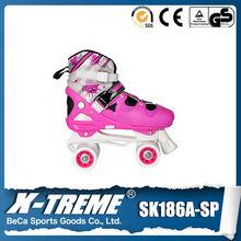 four wheels skate board kids high heel shoes