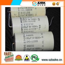EPCOS axial thin film capacitor 150V 20UF platinum electrical capacitance New Original In stock