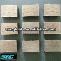 good quality Diamond Edge Cutting Blade Segments,stone cutting segment