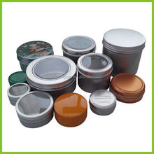 Super quality latest aluminum 4 sets of small metal tin boxes