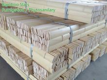 Natural Dry Clean Bamboo slats 4-4.5CM