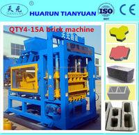 QTY4-15A concrete block making machine for sale/On sale automatic block making machine/factory sale directly brick block machine