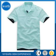 original design 100% Cotton blank men's Polo T Shirt