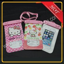 hello kitty waterproof phone bag