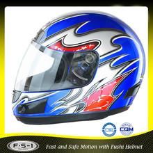 XS,S,M,L,XL unique ECE blue motorcycle racing helmets
