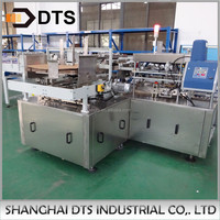 Automatic Hot Melt Glue Wrap Around Packing Machine for Cans