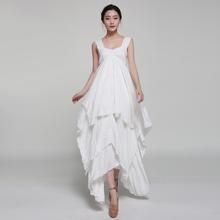 Wholesale OEM Bulk Cheap Factory Apparel Garment 7006 # 2015 fairy skirt irregular put on a large multi-waist dress elegant fair