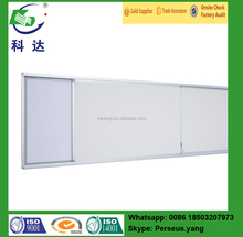 Compound magnetic white board sizes