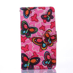 book wallet Genuine flip Leather Case for Sony E4, for Sony E4 Leather Cell Phone Case