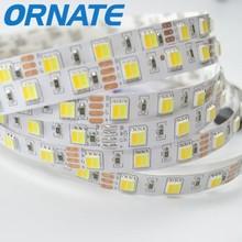 NEW 5mm width 2835 LED Strip White 5M 600 leds SMD Light Non-Waterproof 12V DC