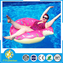 Funny inflatable swim ring pink swim ring size