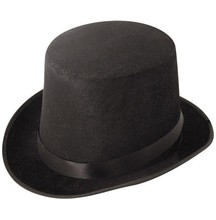 2015 New Popular Fit Man & Women Black Round Top Hat Cham HT7090
