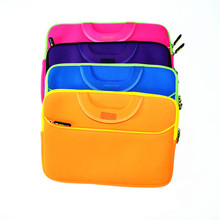 Factory hot sale neoprene laptop handbag notebook tablet PC briefcase computer bag