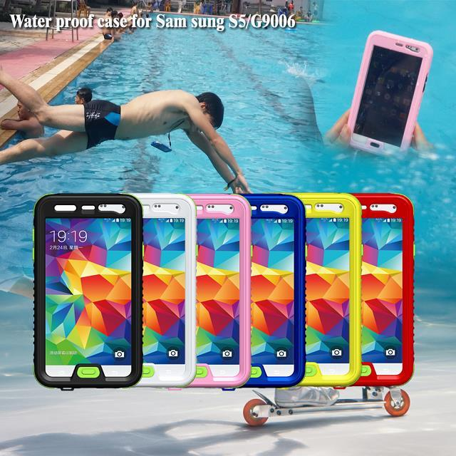 New Arrival Hot Sale For Samsung Galaxy S5 Waterproof Case Paypal Accepted
