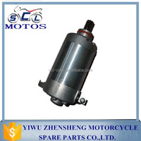 SCL-2012030747 YBR125 motorcycle starter motor
