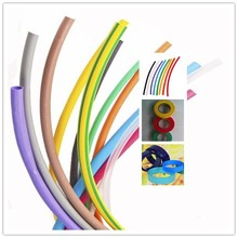 Flexible and colorful PE heat shrink tubing