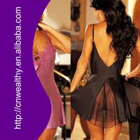 Sexy Underwear Erotic Lingerie Lady in Lingerie Transparent sleepwear