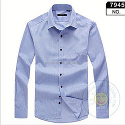 Mulinsen hot sale strip printed carded mens shirts cotton fabric poplin