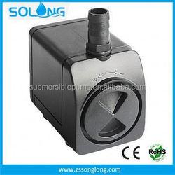 Latest design 1000 L/H 21 W water feature 12v pump motor
