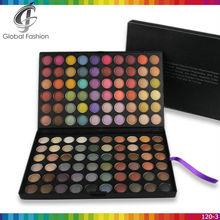 Private label cosmetics makeup wholesale makeup 120 colors eyeshadow palette