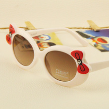 60 ewfdy 023 Korean children bow color glasses children sunglasses UV sunglasses wholesale Hot