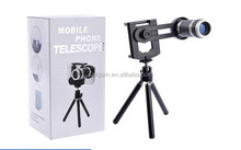 portable for mobile phone 8X universal clip lens