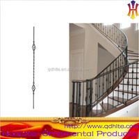 fancy outdoor wrought iron stair railing for internal stairs