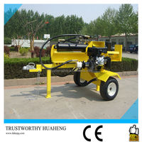 Hot Selling Used Gas Motor Firewood Log Splitter With 45 Ton Splitting Force,Screw Type