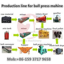 Economical and Feasible Coal Briquette Production Line