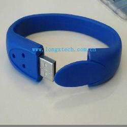 Silicone Bracelet/Wristband Mini 2gb usb Flash Drive