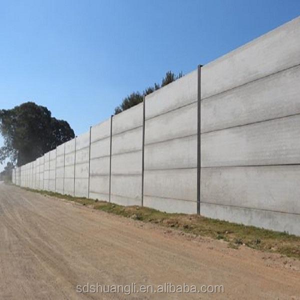 Precast concrete fencing cement board wall for prefab