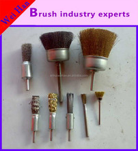 Direct manufacturers supply small pen type steel wire brush/wire wheel/cleaning brush,
