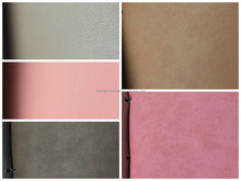 2015 hot sell colorful leatherette fabric raw material low price