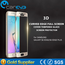 3D curved New products 2016 tempered glass screen protector for Samsung Galaxy S6 Edge
